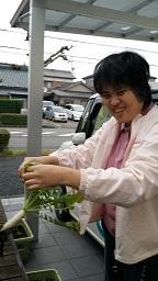 黒田さん 収穫②