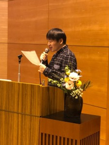 岡崎成人式 先輩の祝辞